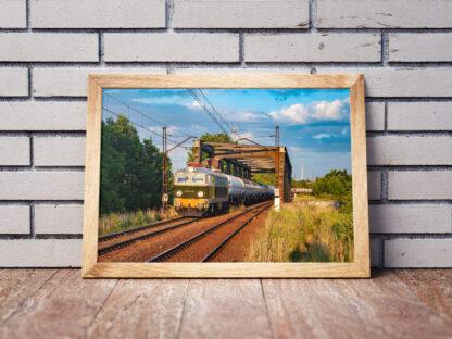 Plakat pociągi